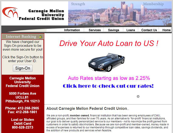 Pittsburgh auto loan rates